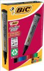 Bic Marking 2300 Permanent Marker Chisel Tip Line Width 3-5.5mm Assorted Ref 8209222 [Pack 4]